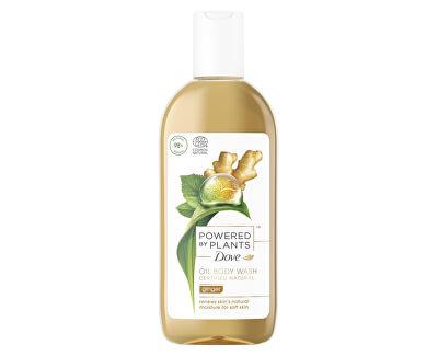 Gel de duș Powered by Plants Ginger (Oil Body Wash) 250 ml