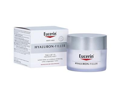 Intenzivní vyplňující denní krém proti vráskám pro suchou pleť SPF 15 Hyaluron-Filler 50 ml