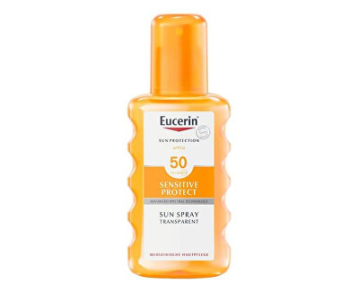 Transparentní sprej na opalování SPF 50 (Sun Clear Spray) 200 ml