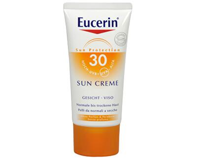 Vysoce ochranný krém na opalování na obličej SPF 30 (Sun Face Cream) 50 ml