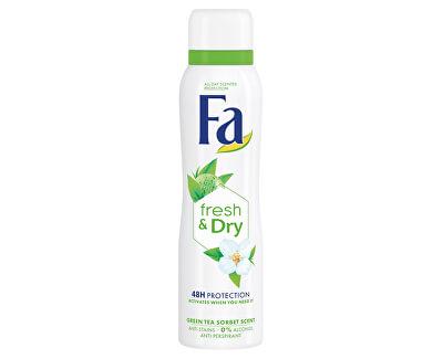 Antiperspirant ve spreji Fresh & Dry Green Tea Sorbet (Anti-perspirant) 150 ml