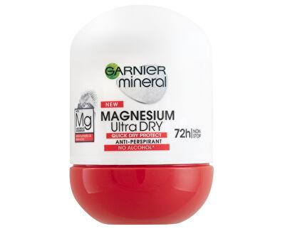 Antiperspirant roll-on pro ženy s magnéziem (Magnesium Ultra Dry) 50 ml