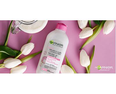 Micelární voda s hydratačním mlékem pro suchou a citlivou pleť Skin Naturals 400 ml