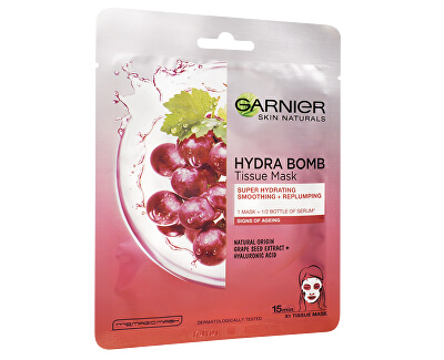 Textilní hydratační maska Hydra Bomb (Tissue Mask) 28 g