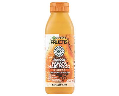 Regenerační šampon pro poškozené vlasy Fructis Hair Food (Repairing Papaya Shampoo) 350 ml