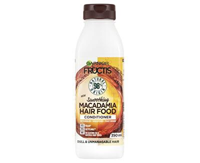 Balsam de netezire pentru părul indisciplinatFructis Hair Food (Macadamia Smoothing Conditioner) 350 ml
