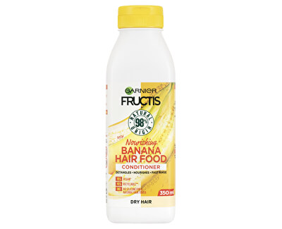 Balsam Nutritiv pentru păr uscat FructisHair Food(Banana {{Nourishing Conditioner 350 ml