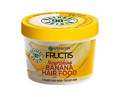 Vyživujúci maska na suché vlasy Fructis (Banana Hair Food) 390 ml