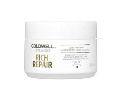 Maska pre suché a poškodené vlasy Dualsenses Rich Repair (60Sec Treatment)