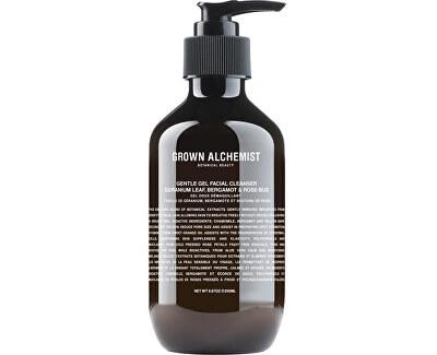Gel facial de curățare Geranium Leaf, Bergamot & Rose-Bud (Gentle Gel Facial Cleanser) 200 ml