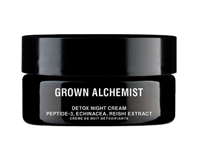 Cremă de noapte detoxifiantă Peptide-3, Echinacea, Reishi Extract (Detox Facial Night Cream) 40 ml