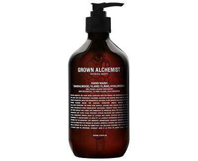 Săpun lichid pentru mâini Sandalwood, Ylang Ylang, Hyaluronan (Hand Wash) 500 ml