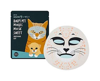 Zklidňující plátýnková maska Baby Pet Magic Soothing Cat (Mask Sheet) 22 ml