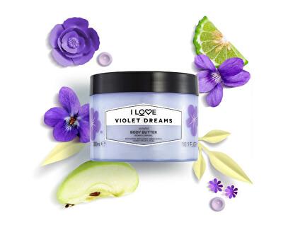 Tělové máslo Violet Dreams (Body Butter) 300 ml