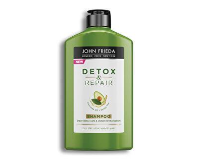 Detoxikační šampon pro poškozené vlasy Detox & Repair (Shampoo) 250 ml