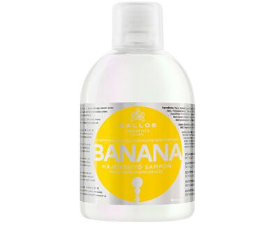 Posilující šampon s extrakty z banánu (Banana Fortifying Shampoo with Multivitamin Complex) 1000 ml - SLEVA - poškozená etiketa