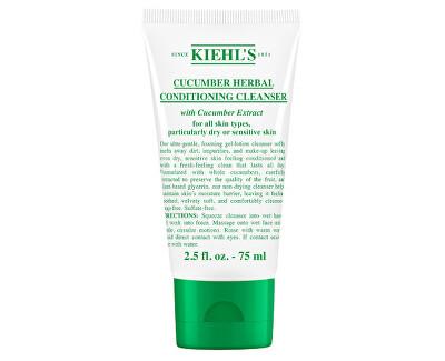 Jemně čisticí pleťová emulze s výtažky z okurky (Cucumber Herbal Conditioning Cleanser) 75 ml