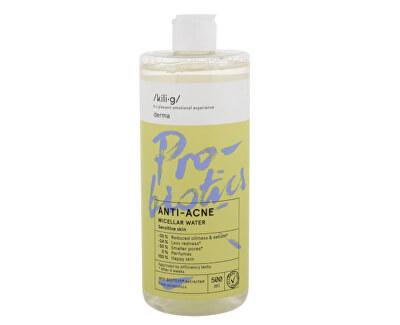 Apă micelară pentru piele sensibilă Derma Anti-Acne (Micellar Water) 500 ml