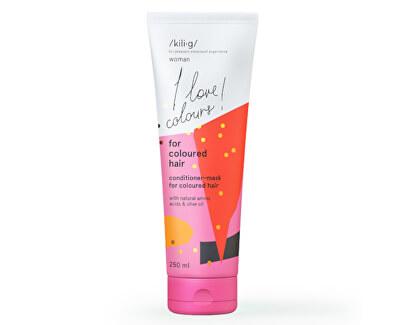 Kondicionér a maska 2v1 pre farbené vlasy Woman (Conditioner-Mask For Coloured Hair ) 250 ml