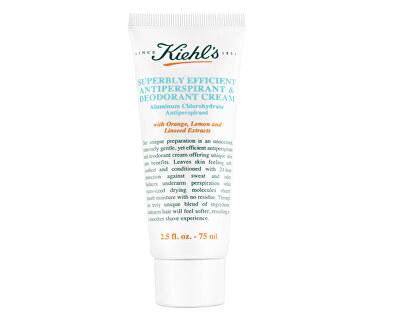Neparfémovaný krémový antiperspirant (Superbly Efficient Antiperspirant and Deodorant Cream) 75 ml