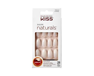 Přírodní nehty vhodné pro lakování 70910 Salon Naturals (Nails) 28 ks