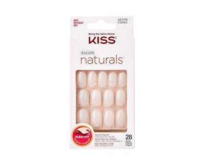 Přírodní nehty vhodné pro lakování 65995 Salon Naturals (Nails) 28 ks