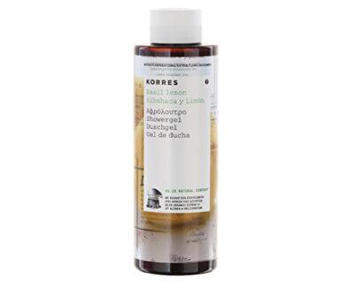 Hydratační sprchový gel s bazalkou a citronem 250 ml
