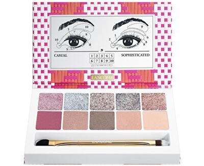 Paletă de 10 farduri de ochi Glitter Eye Palette nuanță 01 Spring19 Os
