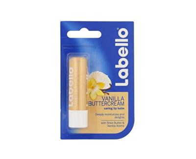 Hydratační balzám na rty s vůní vanilky (Vanilla Butter Cream Caring Lip Balm) 5,5 ml - SLEVA - poškozený obal