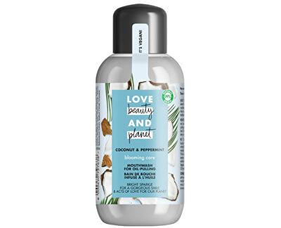Ústní voda bez obsahu alkoholu Coconut & Peppermint (Mouth Wash) 250 ml