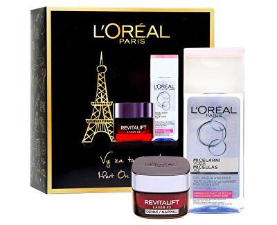 Kosmetická sada pleťové péče Revitalift Laser X3 - SLEVA - pomačkaná krabička