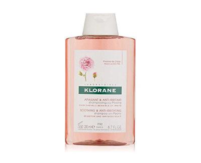 Zklidňující šampon pro citlivou pokožku hlavy Pivoňka (Soothing & Irritating Shampoo With Peony) 200 ml