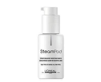 Uhladzujúci sérum pre rozstrapkané končeky vlasov Steampod (Protecting Concentrate Beautifying Ends) 50 ml