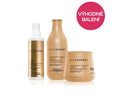 Ermäßigte Verpackung Regenerierendes Shampoo 300 ml + Intensive Regenerationsmaske 250 ml + Multifunktionsspray 190 ml