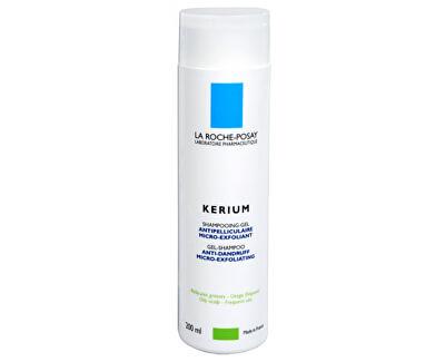 Gelový šampon na mastné lupy Kerium 200 ml