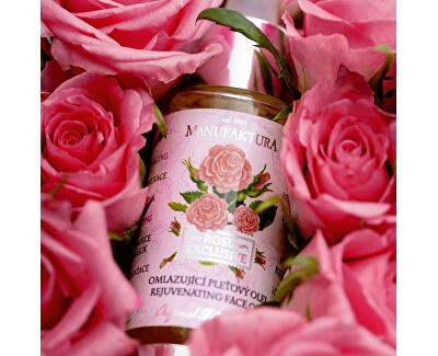 Omlazující pleťový olej s růží 30 ml