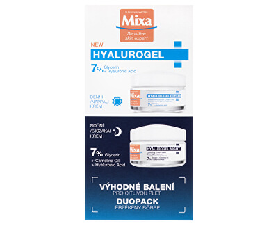Hyalurogel Duopack 2 x 50 ml Set cosmetic