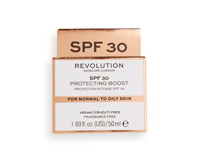 Denní krém pro normální až mastnou pleť Revolution Skincare (Moisture Cream SPF 30 Normal to Oily Skin) 50 ml