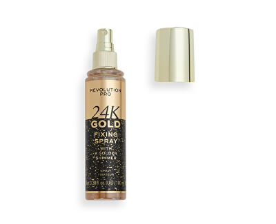 Spray de fixare pentru make-up 24K Gold (Fixing Spray) 100 ml
