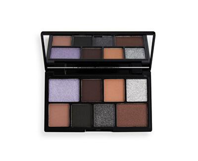 Paletă fard de ochi Black Pearl (Chocolate Mini Paletă) 10,2 g