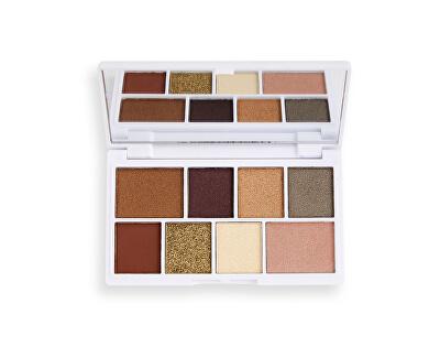 Paletka očních stínů White Gold Chocolate Mini (Chocolate Mini Palette) 10,2 g