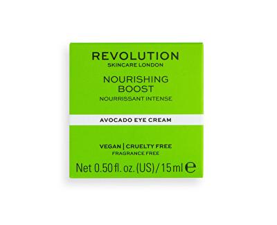 Oční krém Revolution Skincare Nourishing Boost (Avocado Eye Cream) 15 ml