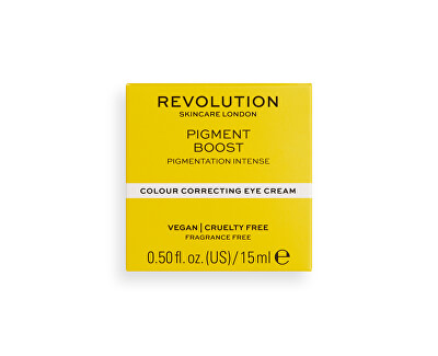 Oční krém Revolution Skincare Pigment Boost (Colour Correcting Eye Cream) 15 ml