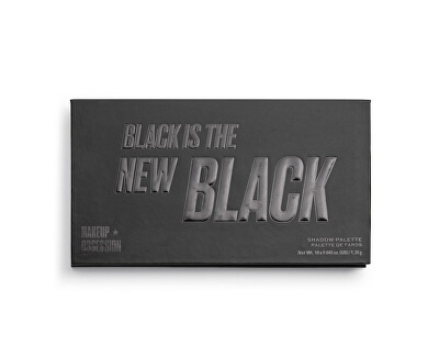 Paletka očních stínů Black Is The New Black Obsession (Eye Shadow Palette) 13 g