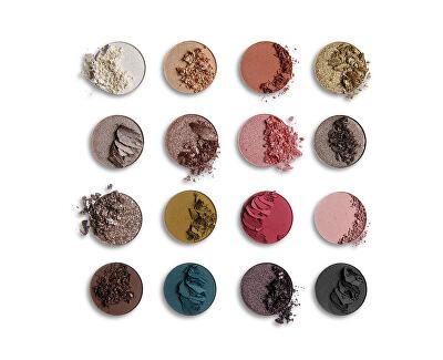 Paletka očních stínů Rady Dusk (Shadow Palette) 16 x 1,3 g