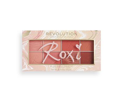 Paletka tvářenek Revolution (X Roxxsaurus Blush Burst Palette) 16 g