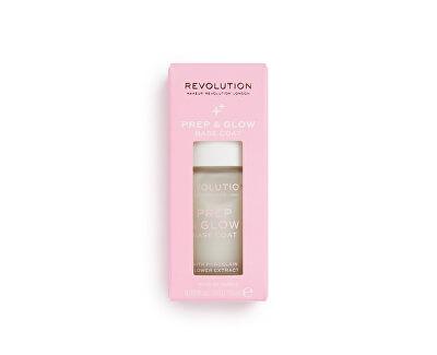 Podkladová báze na nehty Revolution (Prep & Glow Base Coat) 10 ml