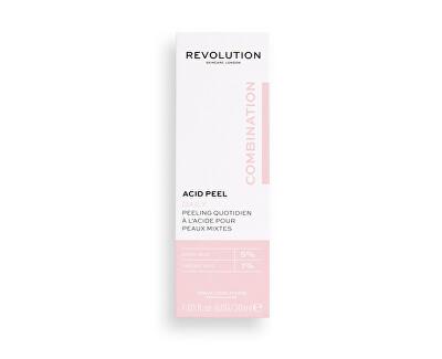 Pleťový peeling pro smíšenou pleť Skincare Acid Peel (Peeling Solution) 30 ml