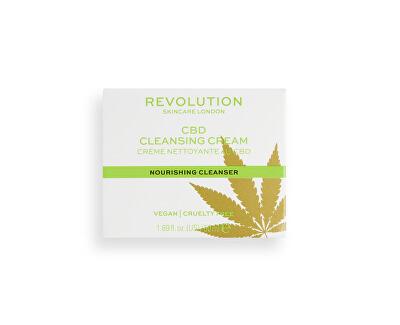 Cremă de Tenpentru curățare CBD Skincare (NourishingCleansing Cream) 50 ml