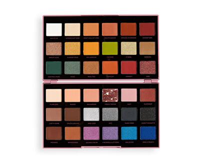 Paletka očních stínů X Petra XOXO (Shadow Palette) 28,8 g